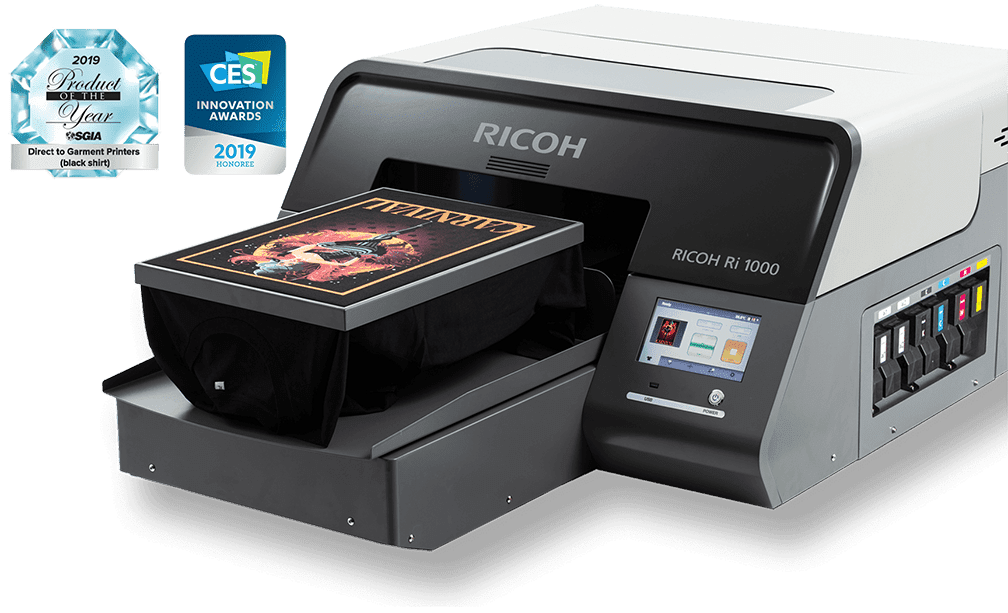 Ricoh RI 1000 Printer CES SGIA Award