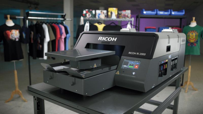 RICOH Ri2000 Direct to Garment Printer